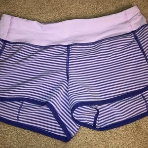 Lululemon Speed Shorts!!